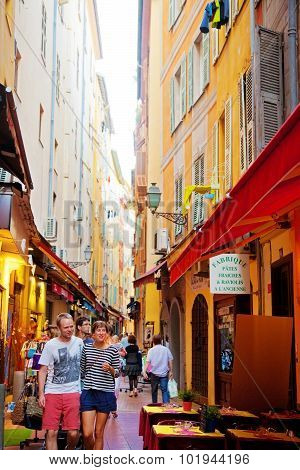 Narrow Streets In Nice