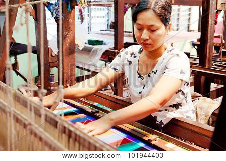 Burmese Weaving