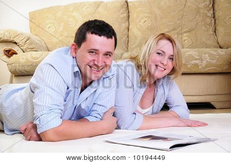 Couple Spends Time Together