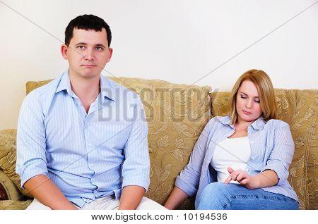 Paar gestritten hatte