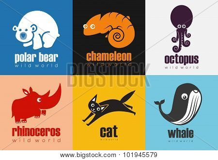 Animal Icon Set - Wild World