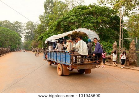 Local Transport In Cambodia