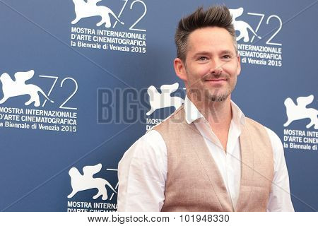 Scott Cooper at the photocall for Black Mass at the 2015 Venice Film Festival.