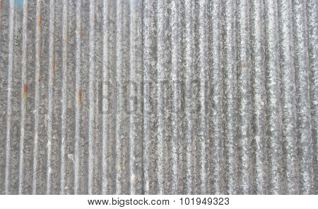 Old Rusty Galvanized Zinc