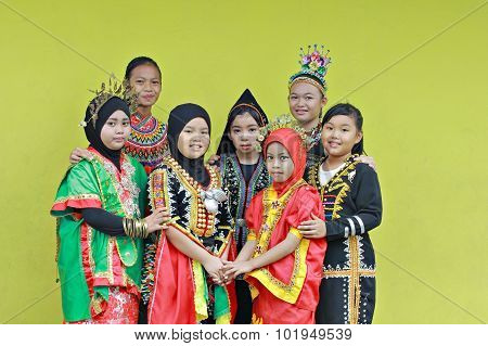 Lovely Borneo girls