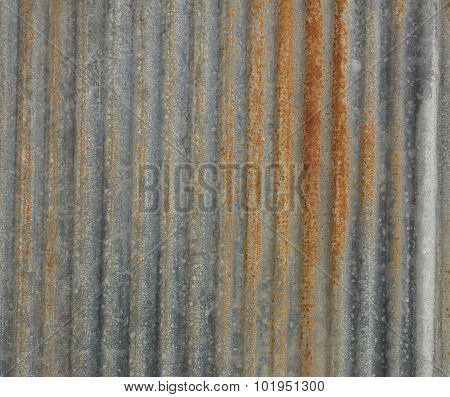 Texture Zinc Background.