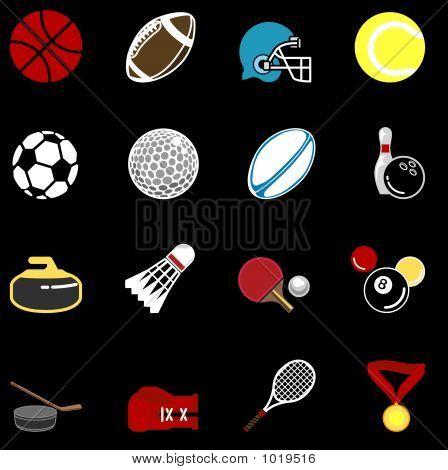 Sports Icon Series Set