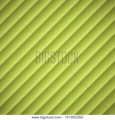 Abstract Green Lined Embossed Shadow Background Vector