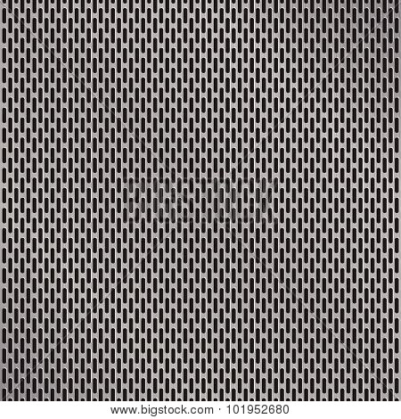 Aluminum Grate Background Vector