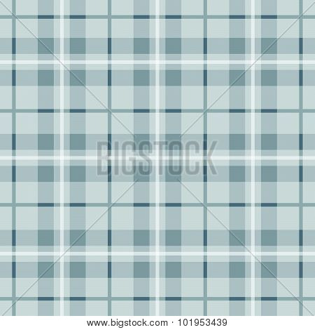 Tartan Texture, Gray Loincloth, Background Vector