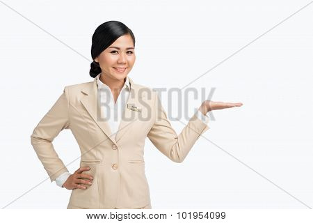 Holding invisible product