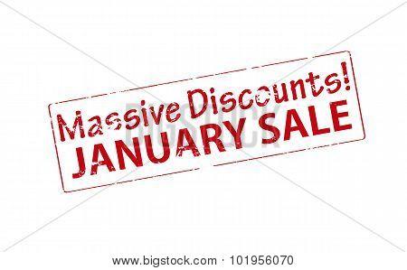 Massive Discounts January Sale