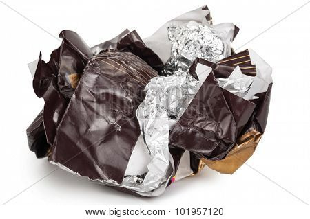 Ball cover of chocolate