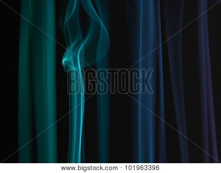 Color Smoke Pattern