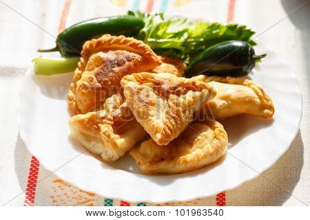 Phyllo Cheese Patties