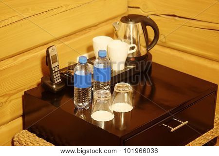 Metal electric kettle and cup