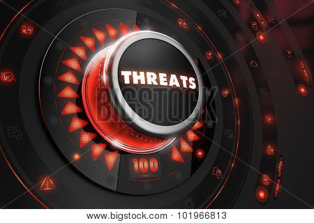 Threats Controller on Black Console.