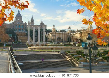 the National Museum in Barcelona. Spain
