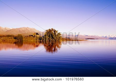 Cottage Tranquil Scenic Countryside Serene Concept