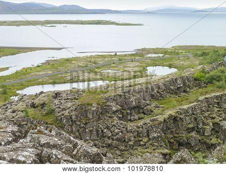 Coastal Scenery In Iceland