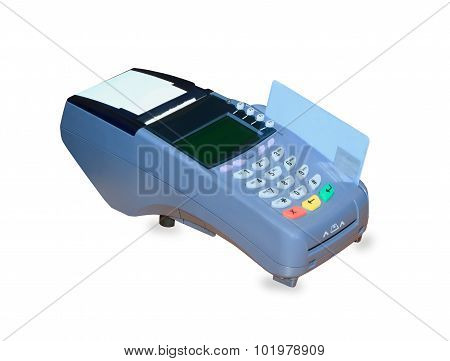 POS terminal and credit card processing isolated