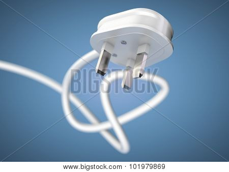 Unplug An Electrical Appliance Plug To Save Electricity.