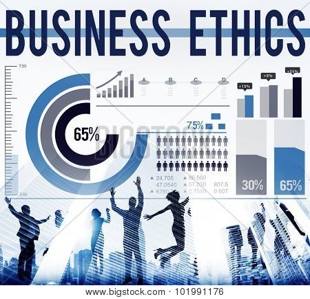 Business Ethics Values Behavior Concept