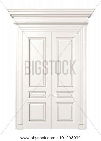 White Classic Door.