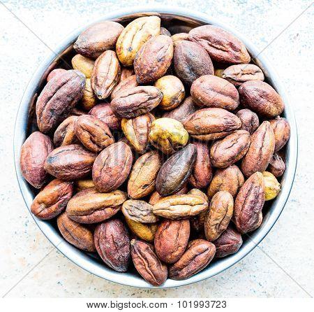 Haritaki ~ Indian Ayurvedic medicine also called Terminalia chebula