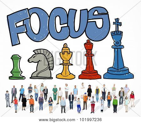 Focus Focal Concentration Attention Concept