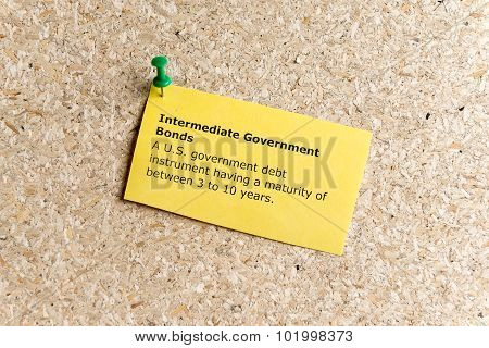 Intermediate Government Bonds