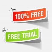 100% free and free trial stickers