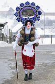 image of mummer  - St Sylvester mummers  - JPG