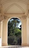 Renaissance porch