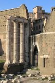 Trajan Forum in Rome (Italy)