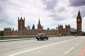 image of big-ben  - Westminster Cathedral and Big Ben clock tower in London - JPG