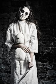 image of rag-doll  - Horror shot - JPG