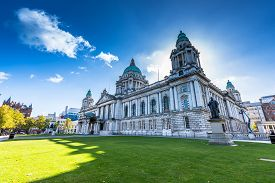 pic of city hall  - The city hall of Belfast North Ireland - JPG