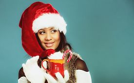 stock photo of mug shot  - Christmas time concept - JPG