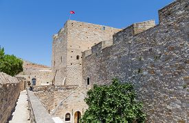 picture of ottoman  - Cesme Castle presides over the town and was built in 1508 - JPG