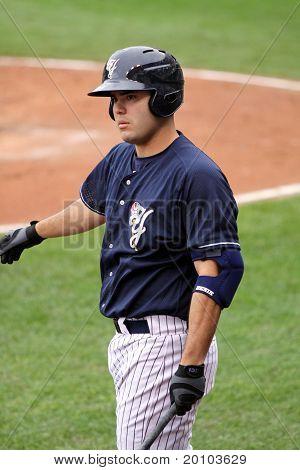 Scranton Wilkes Barre Yankees batter Jesus Montero