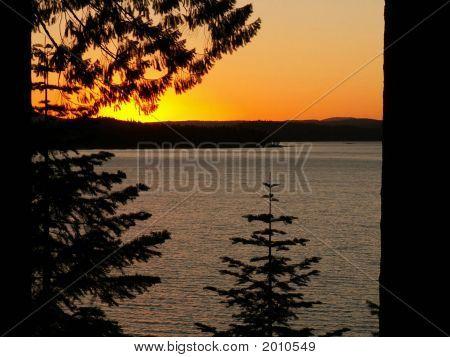Sunset On Lake Almanor2