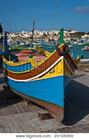 Luzzu, traditionellen Augen Boot