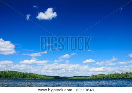 Blue Skies In The Wilderness