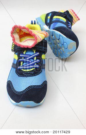 socks in shoe