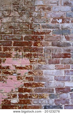 Brick Wall Grunge Background