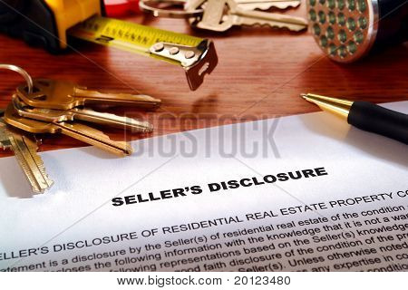 Real Estate Seller Disclosure Statement