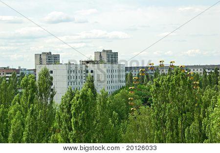 Lost city Pripyat, Chernobyl region
