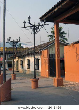 Street Lights In Copan