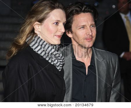 NEW YORK - APRIL 20: Actor Andrew McCarthy and Dolores Rice arrive at New York State Supreme Court for the Vanity Fair Party during the 2010 Tribeca Film Festival on April 20, 2010 in New York City.